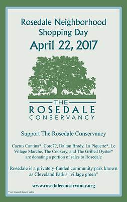 Rosedale Neighborhood Shopping Day - April 22