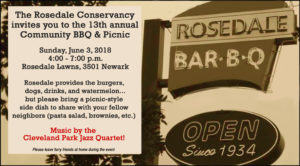 13th Annual Community BBQ @ Rosedale Gate