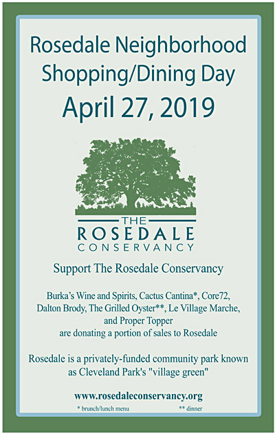 2019 Rosedale Shopping Day
