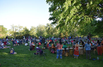 Bele Bele Rhythm Collective Performance at Rosedale