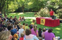 Reptiles Alive entertains at Rosedale