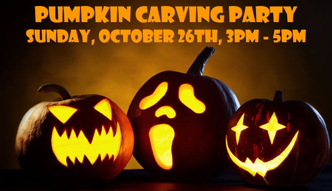 2014 Pumpkin Carving Party