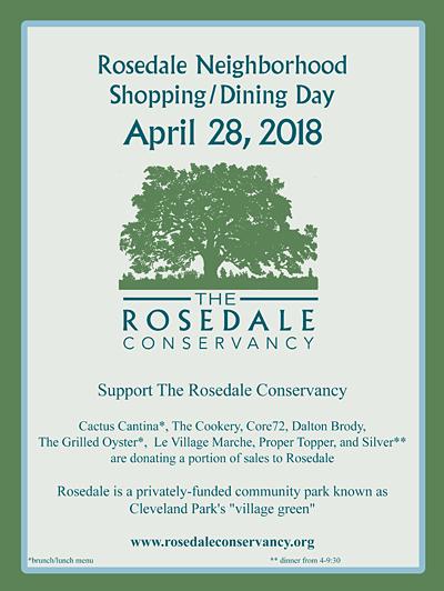 Rosedale Neighborhood Shopping Day