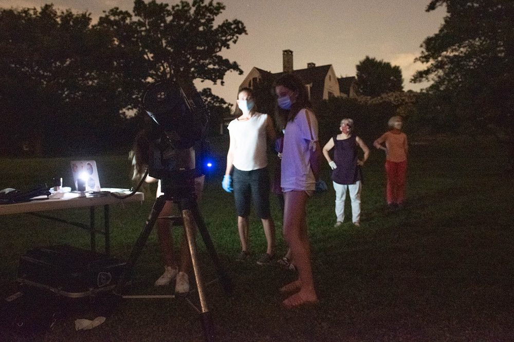 Astronomy night at Rosedale